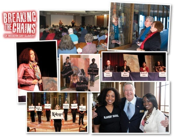 Breaking the Chains January 2013 Event Collage