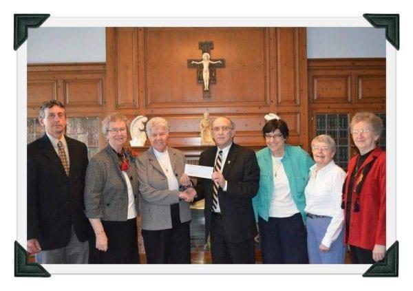 Knights of Columbus Donation 2013