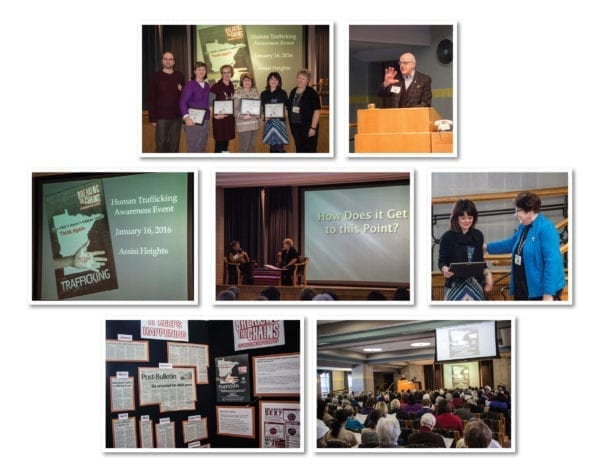 Human Trafficking event Collage